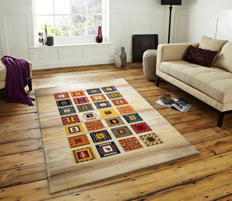 فرش ساوین مهر کرم فرش با قیمت مناسب