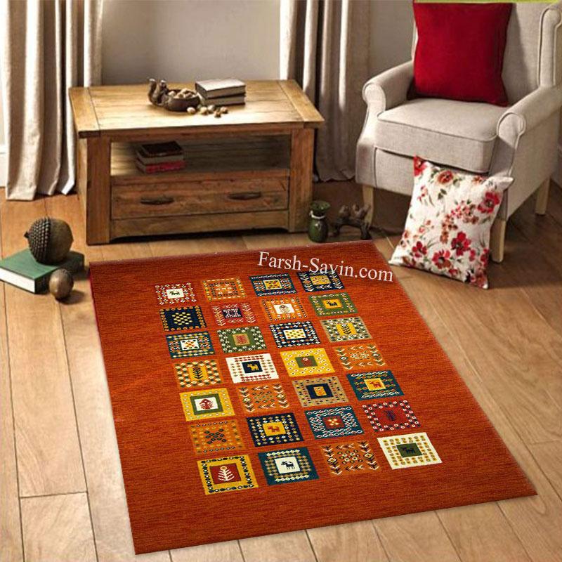فرش ساوین فرش مهر لاکی فرش اتاق خواب