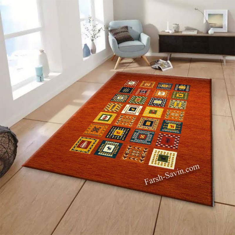 فرش ساوین فرش مهر لاکی فرش با قیمت مناسب