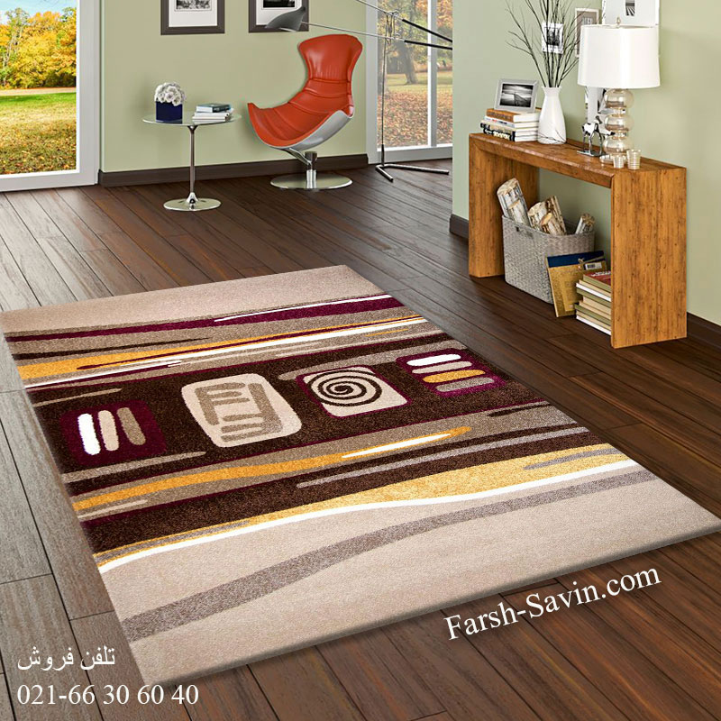 فرش ساوین هدیه شکلاتی فرش فانتزی