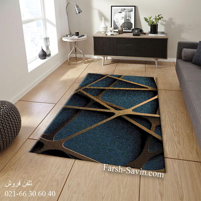 فرش ساوین طرح اونیکس فرش مدرن