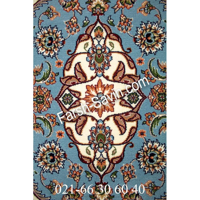 فرش ساوین 4504 کرم فرش زیبا