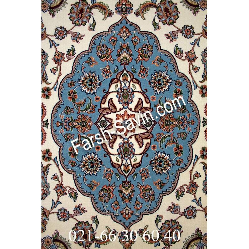 فرش ساوین 4504 کرم فرش پرفروش
