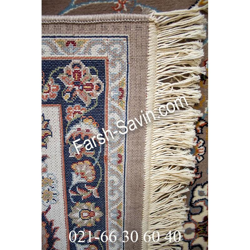 فرش ساوین 4509 شتری فرش کلاسیک