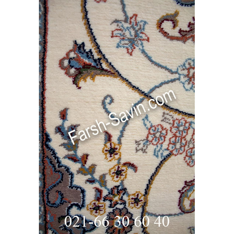 فرش ساوین 4509 کرم فرش خاص