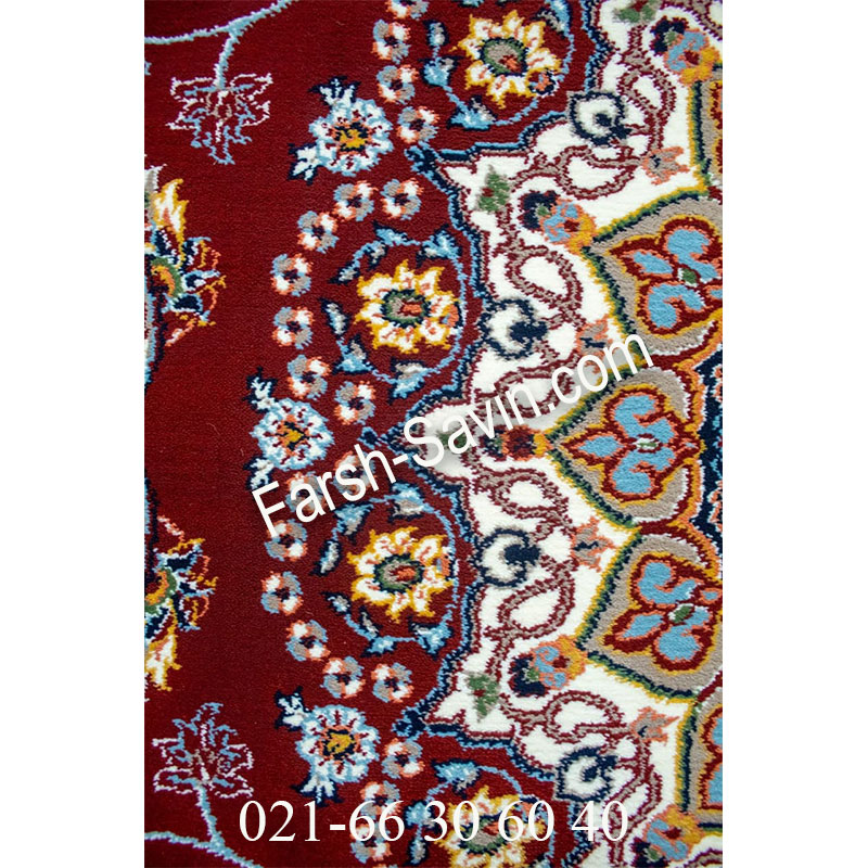 فرش ساوین 4509 لاکی فرش پرفروش