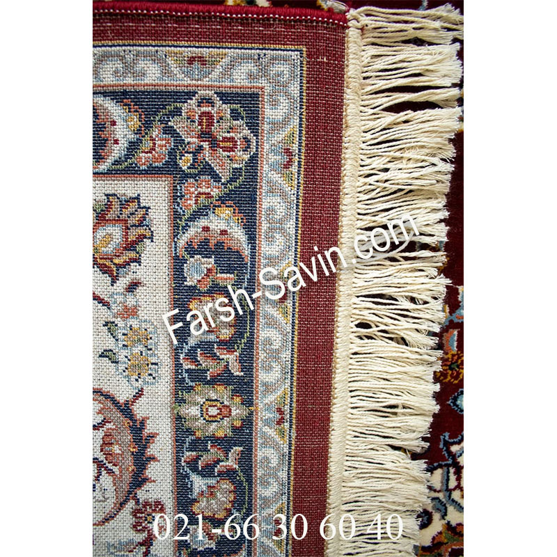 فرش ساوین 4509 لاکی فرش کلاسیک