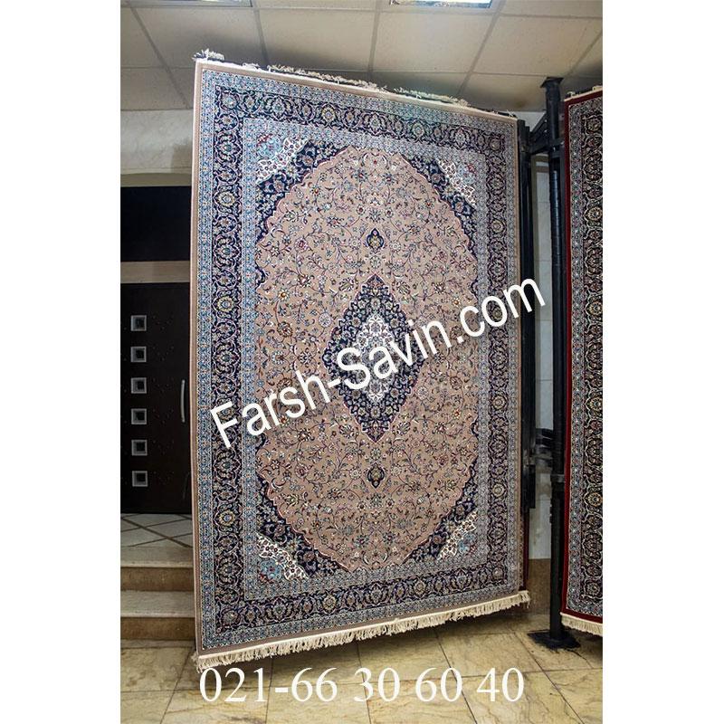 فرش ساوین 4510 شتری فرش کلاسیک
