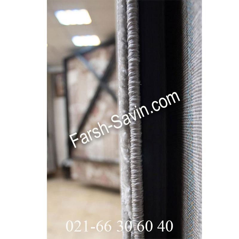 فرش ساوین 7420 طوسی فرش ایرانی