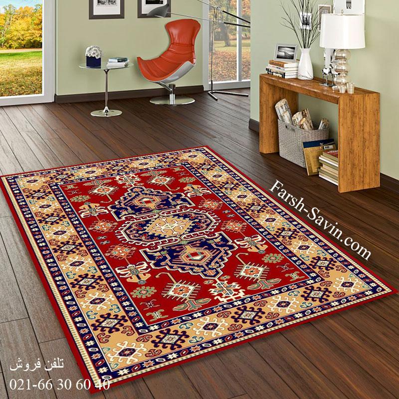 فرش ساوین طوبی 2 لاکی فرش گبه