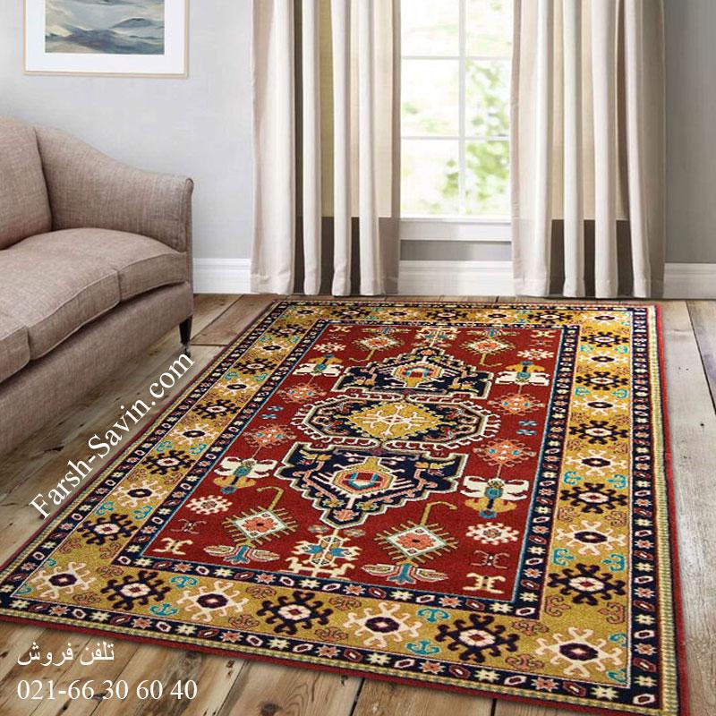 فرش ساوین طوبی لاکی فرش خاص