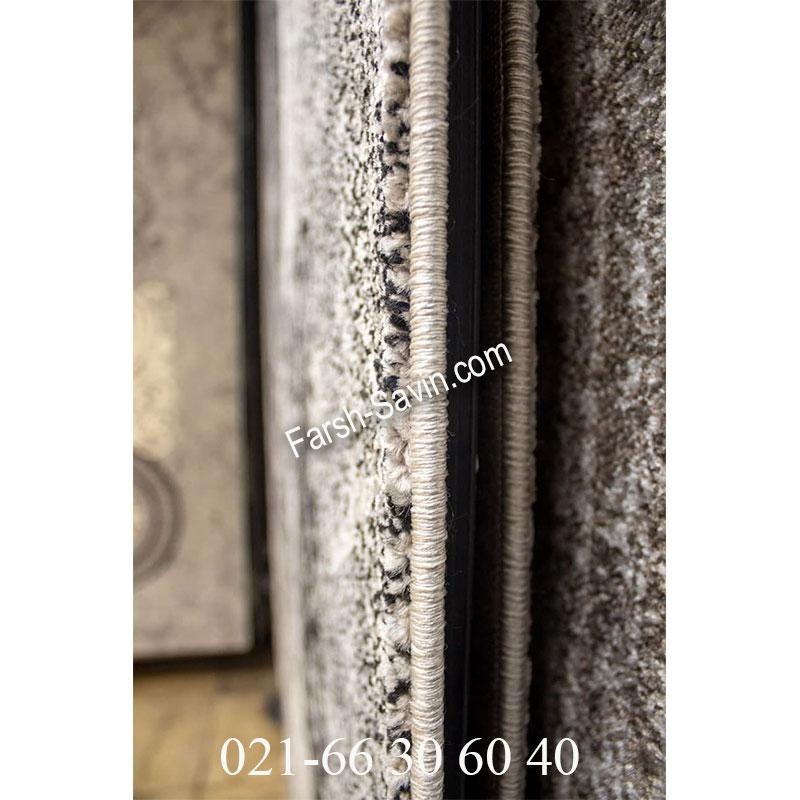 فرش ساوین 4010 مشکی فرش پرفروش