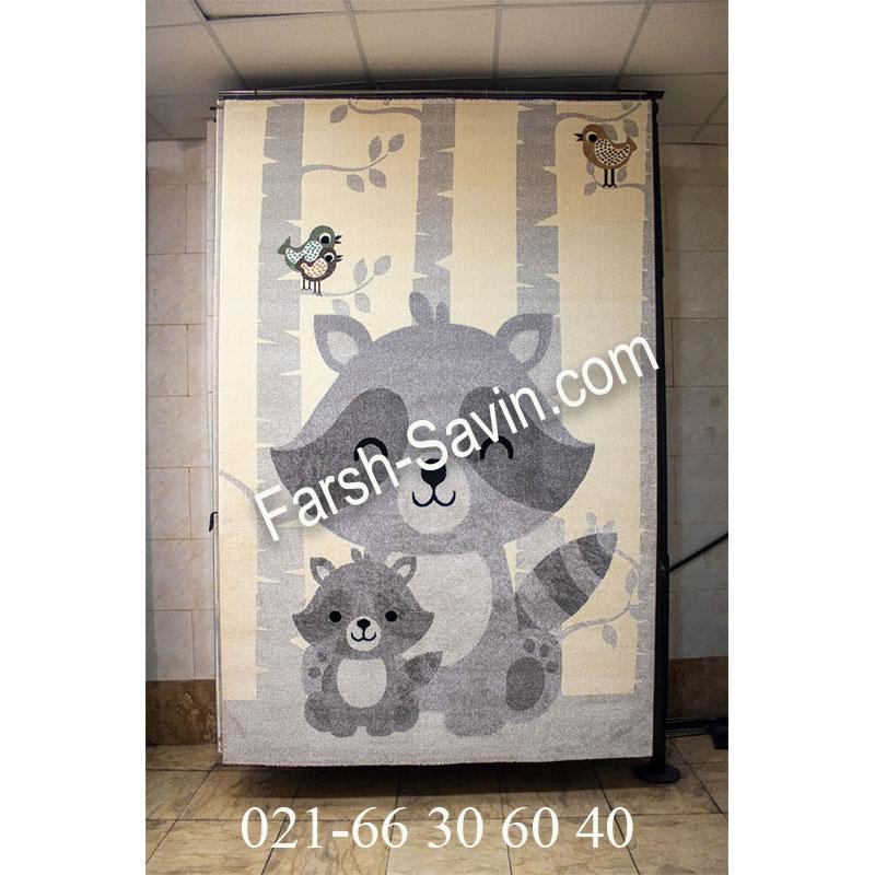 فرش ساوین 4031 کرم فرش خاص