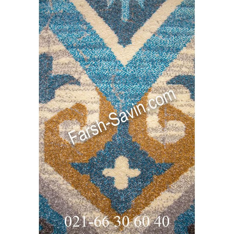 فرش ساوین 4033 کرم فرش با کیفیت