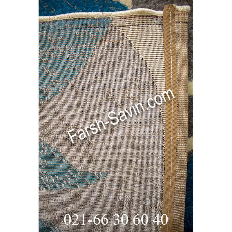 فرش ساوین 4050 نقره ای فرش با کیفیت