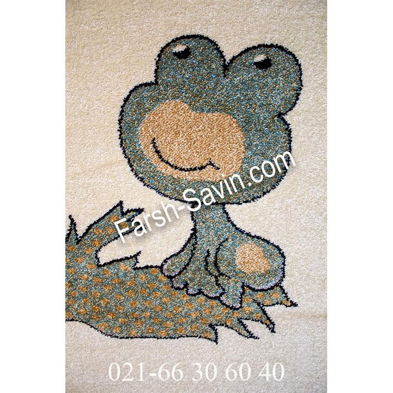 فرش ساوین 4057 کرم فرش پرفروش