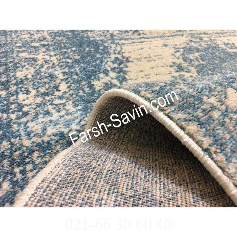 فرش ساوین 4062 کرم فرش قانتزی