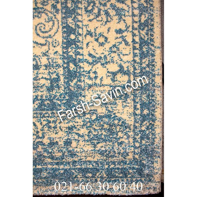 فرش ساوین 4062 کرم فرش پرفروش
