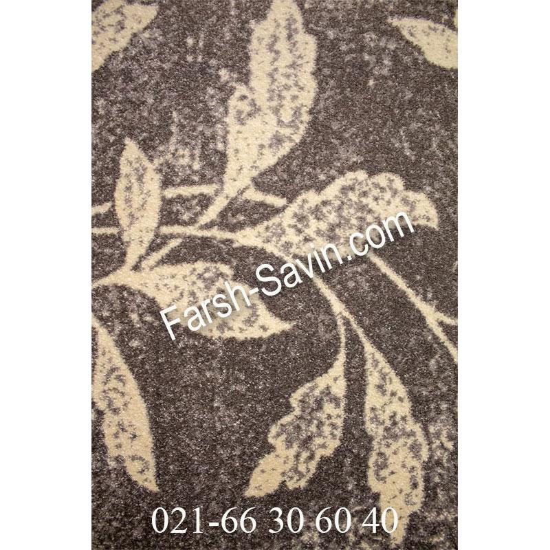فرش ساوین 4089 طوسی فرش پرفروش