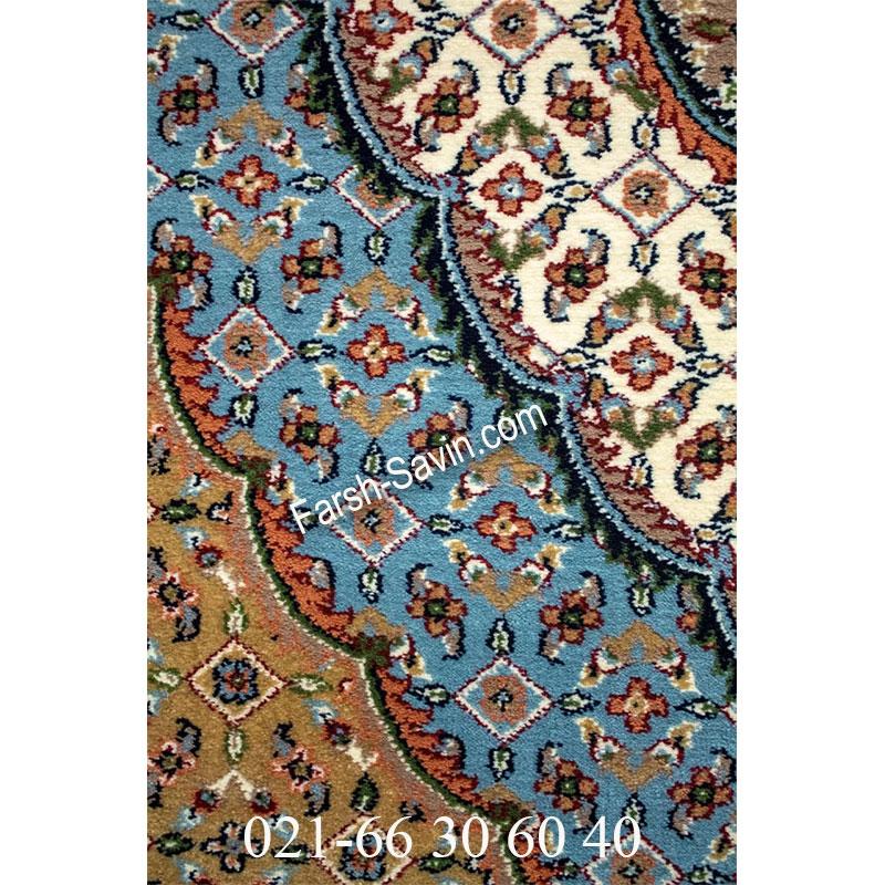 فرش ساوین 4500 شتری فرش زیبا