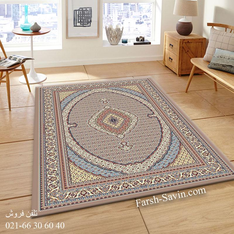 فرش ساوین 4500 شتری فرش خاص