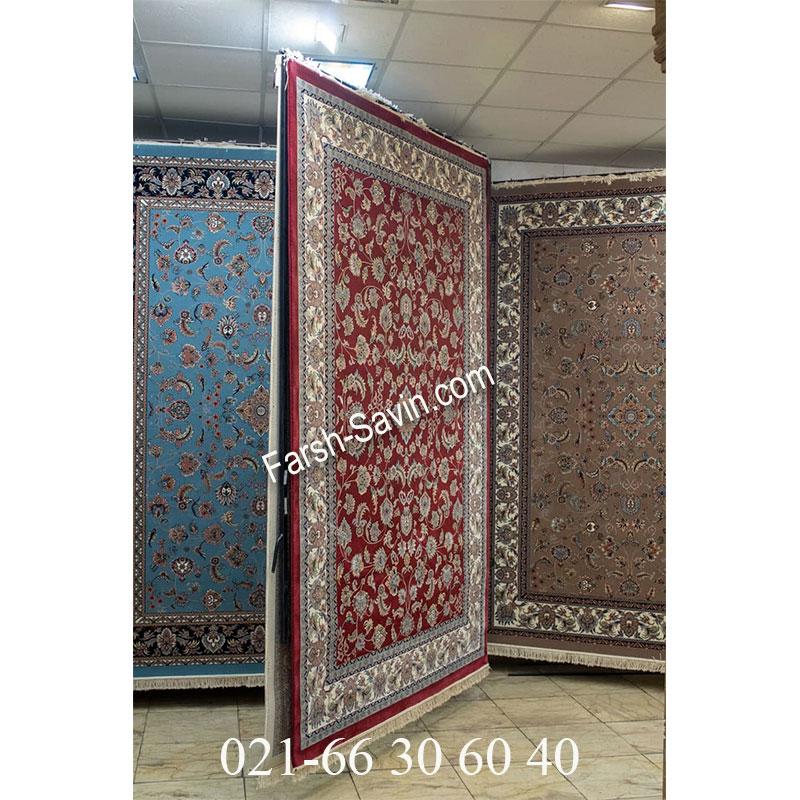 فرش ساوین 4501 لاکی فرش کلاسیک