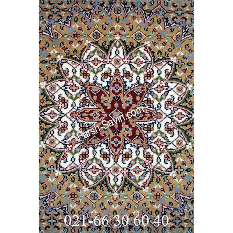 فرش ساوین 4502 کرم فرش خاص