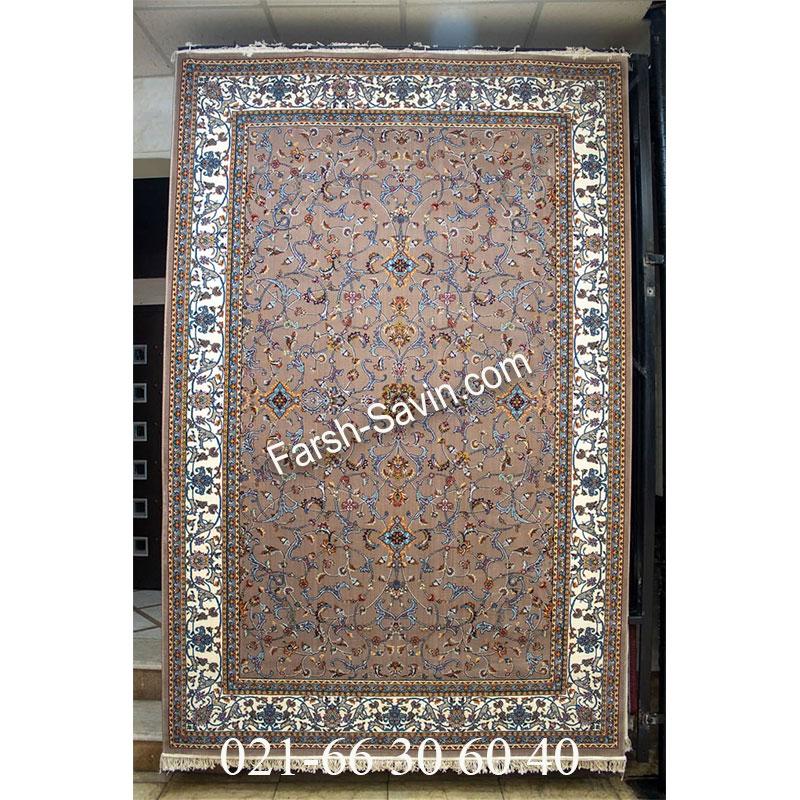 فرش ساوین 4503 شتری فرش بادوام