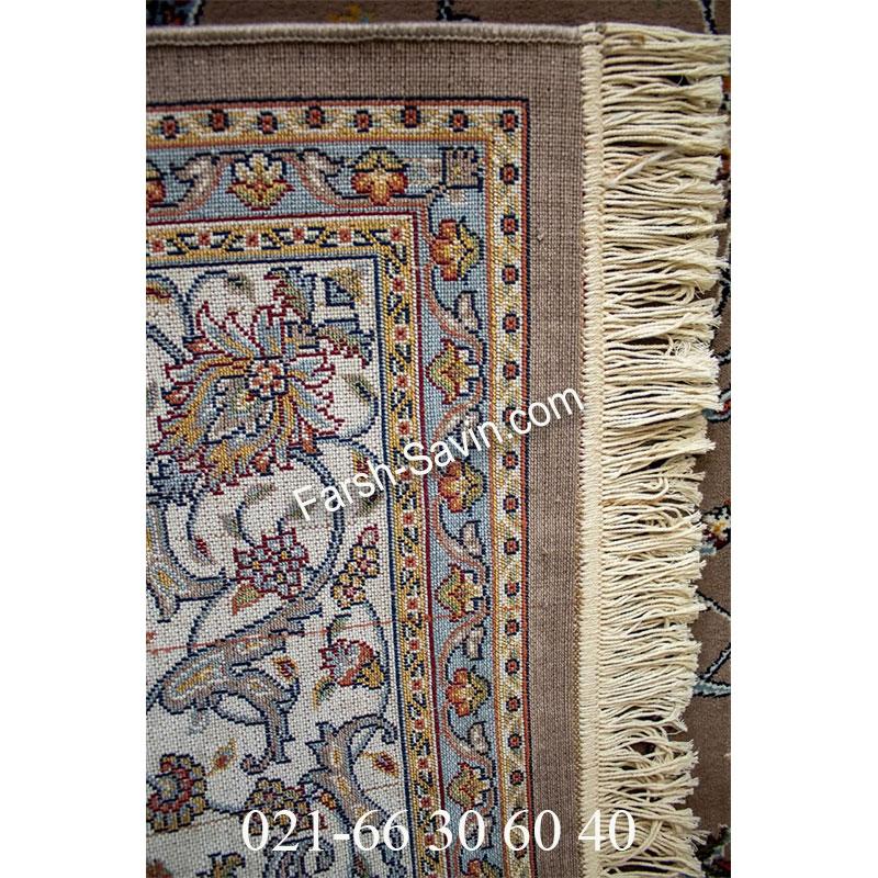 فرش ساوین 4503 شتری فرش کلاسیک