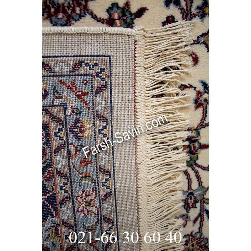 فرش ساوین 4510 کرم فرش کلاسیک