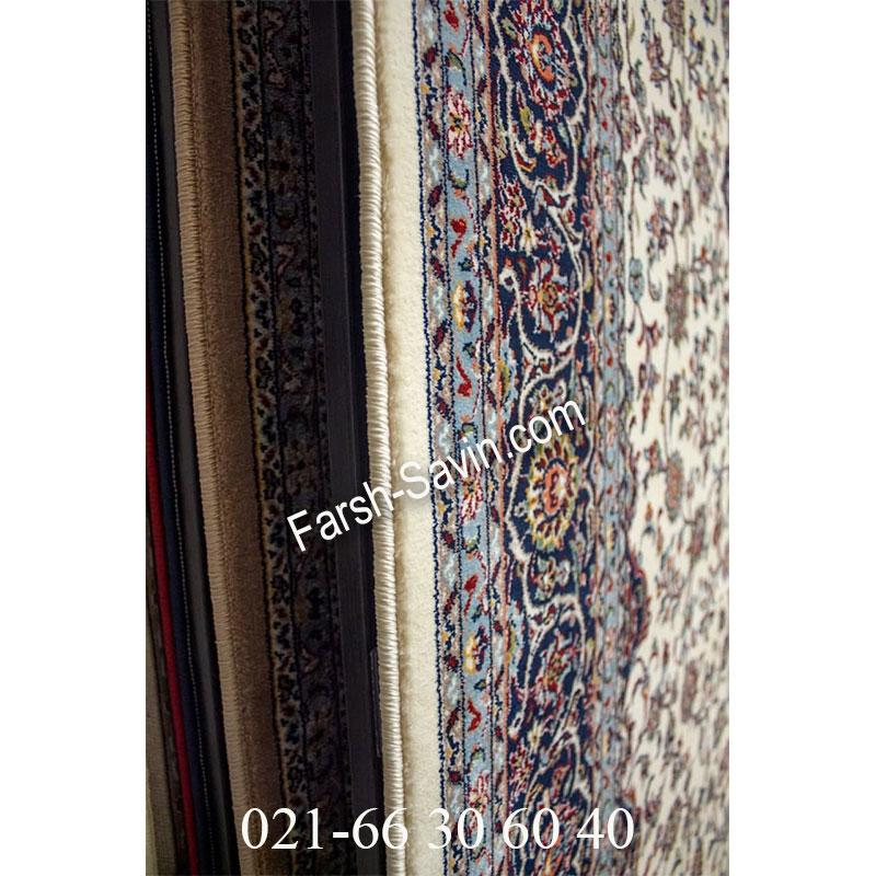 فرش ساوین 4510 کرم فرش اتاق خواب
