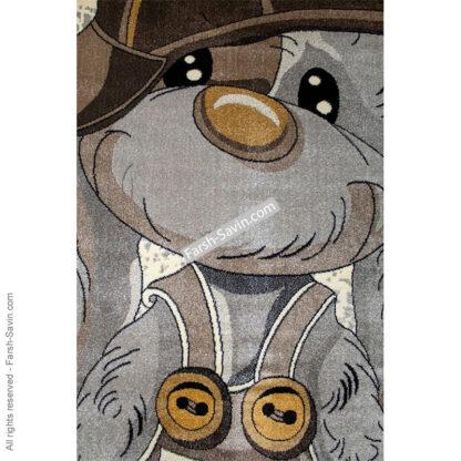 فرش ساوین 4059 خرگوش مهربان اتاق کودک