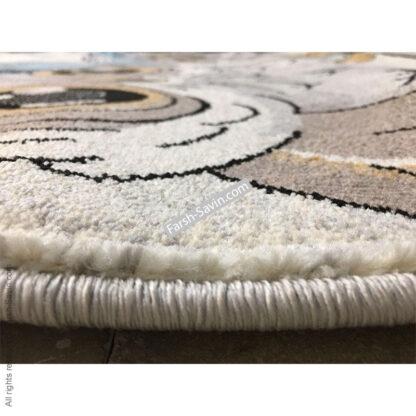 فرش ساوین طرح جغد مهربان اتاق کودک