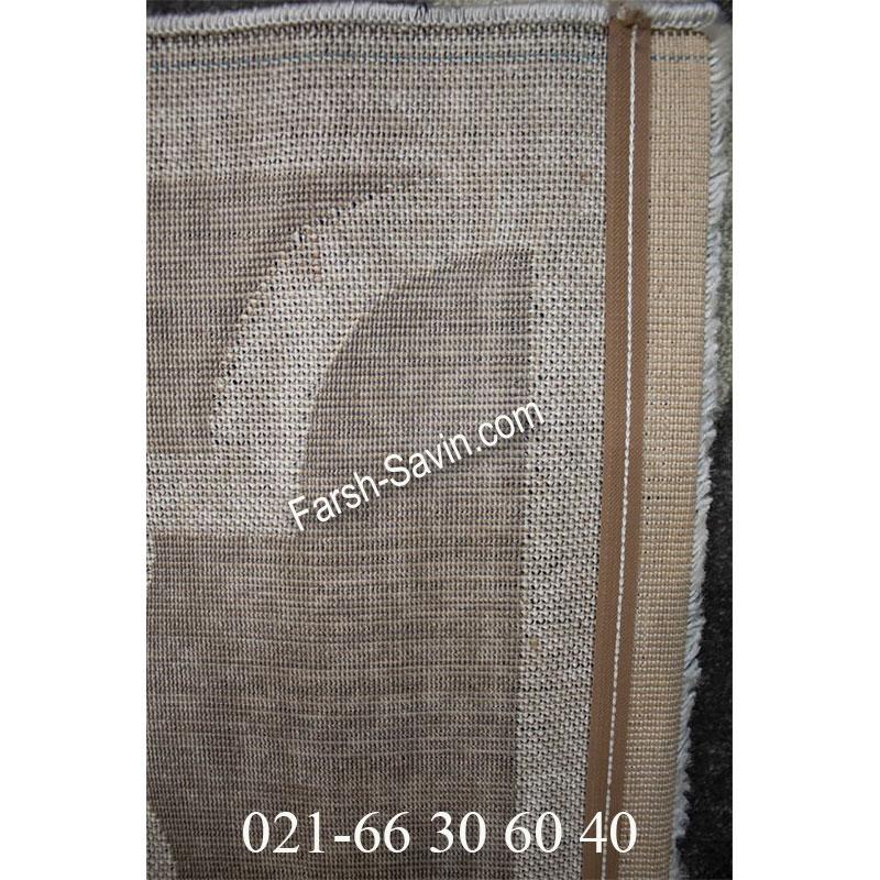 فرش ساوین 4025 طوسی فرش شیک