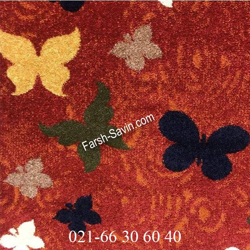 فرش ساوین 4054 لاکی فرش خوشگل