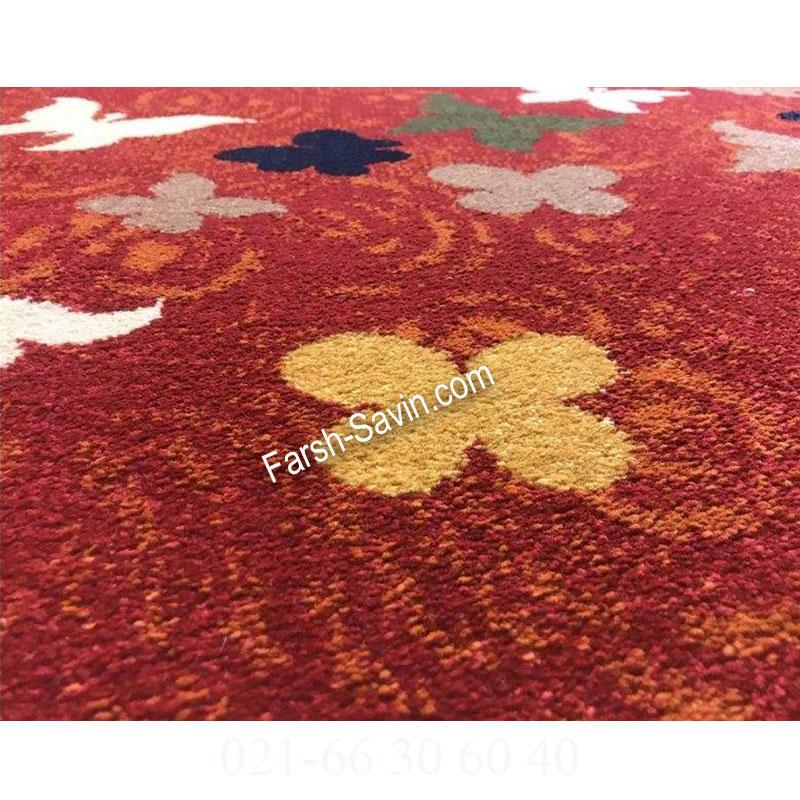 فرش ساوین 4054 لاکی فرش پرفروش