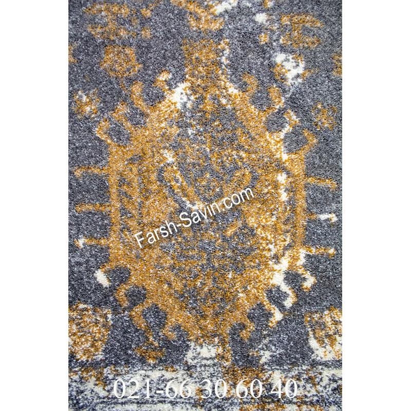 فرش ساوین 4061 طوسی فرش سنتی