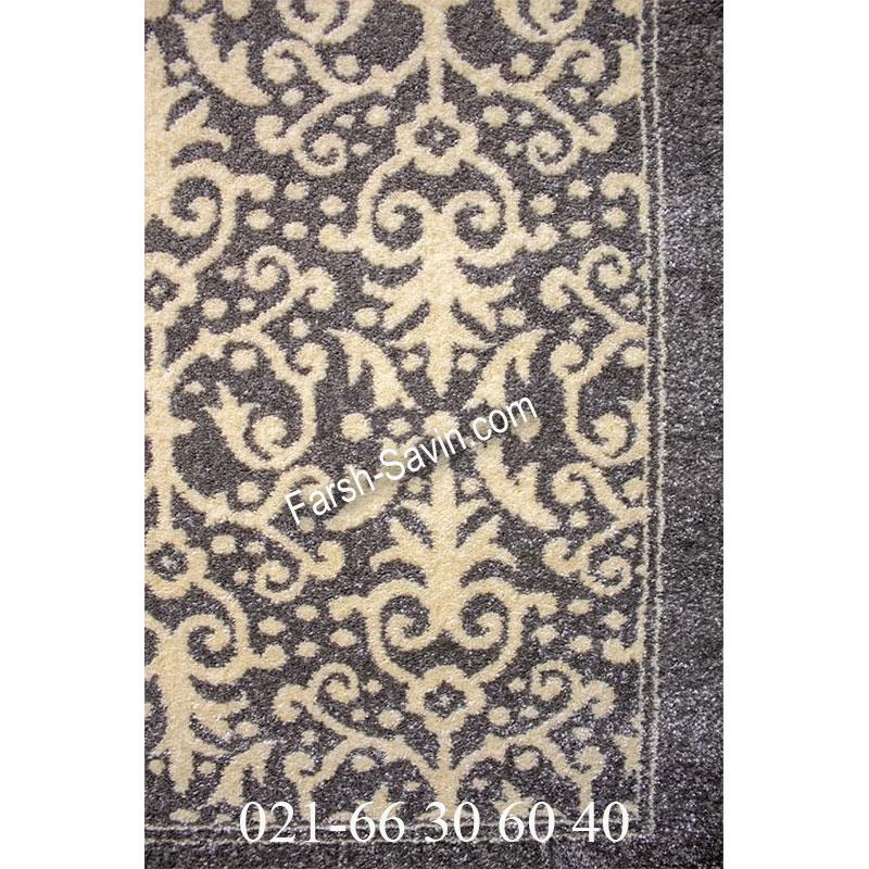 فرش ساوین 4069 طوسی فرش پرفروش