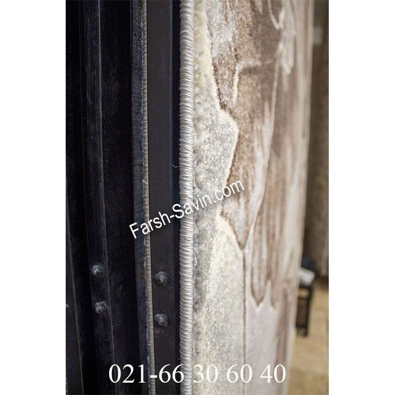 فرش ساوین 4090 کرم فرش خاص