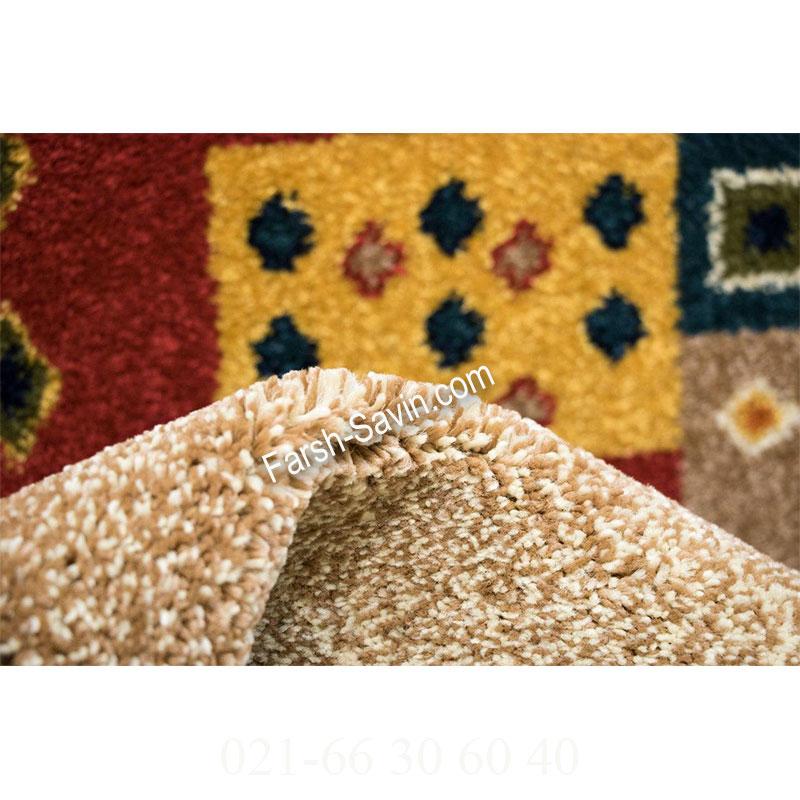 فرش ساوین اترک کرم فرش سنتی