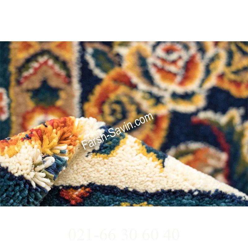 فرش ساوین بختیاری لاکی فرش با کیفیت بالا