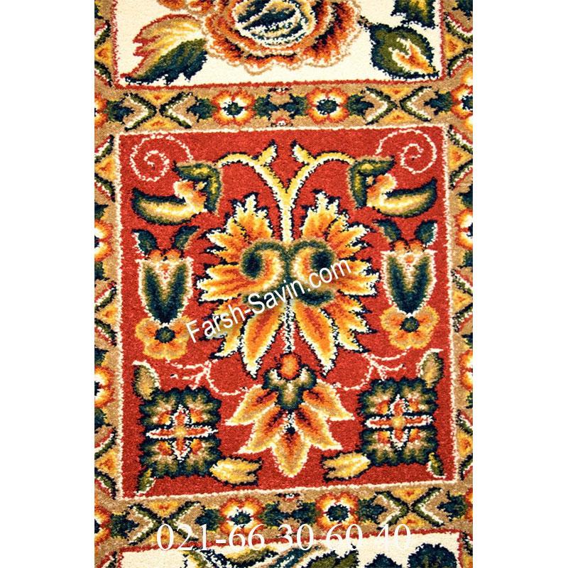 فرش ساوین بختیاری لاکی فرش سنتی